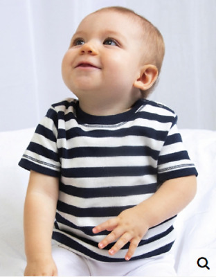 T-Shirt Baby for Newborn short Sleeved Top Striped 3 Colori