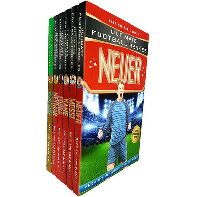 Ultimate Football Heroes Neuer 6 Books Collection Set By Matt & Tom Oldfield NEW