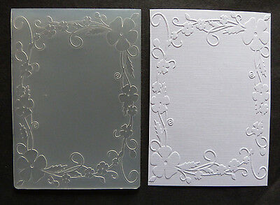 Crafts-Too/CTFD4018/C6/Embossing /Folder/Flowers Frame