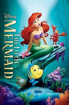 Walt Disney's The Little Mermaid movie poster (d) : 11 x 17 inches