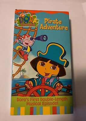 Dora The Explorer Pirate Adventure Vhs 2004 Double Length Musical