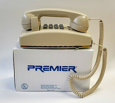 PREMIER 2554 Wall-Mount TELEPHONE Tone Dial with Volume Control ***NEW***
