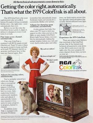Rca Print Ad Rca Colortrak Little Orphan Annie And Dog Featured Rca 1979 Promo