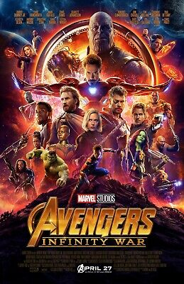 Avengers Infinity War movie poster  : 11 x 17 inches - Infinity War poster (b)