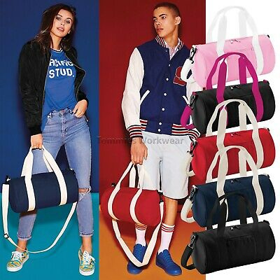 Mini Barrel Bag Small Funky Gym Sport Holdall Mens Womens Yoga 12 Litre (BG140S)