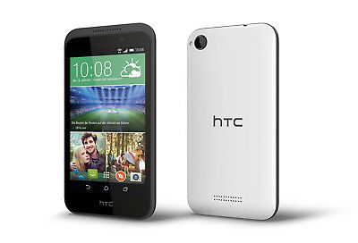 HTC Desire 320 in Terra White Handy Dummy Attrappe - Requisit, Deko, Werbung
