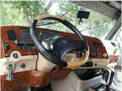 FITS FORD STERLING FIBERGLASS Dashboard custom to VIN # Wood print style