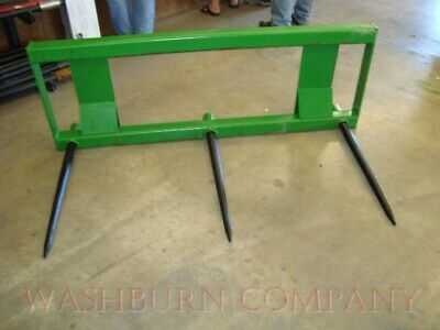 "Hay Spear for John Deere 200-500 (3) Spear w/ 48"" Spikes"