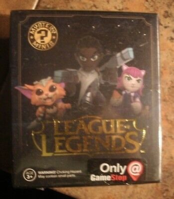 Funko League Of Legends Lucian Mystery Mini Figure Gamestop Exclusive Figure