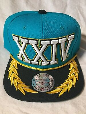Bruno Mars Exclusive 24K Magic Xxivk World Tour Mitchell & Ness Cap Hat Blue