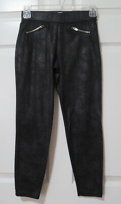 Xhilaration Cropped Leggings Black  Girl's Size 10-12
