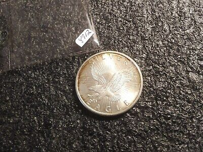 1 Troy Ounce Silver Sunshine Mint Round !!