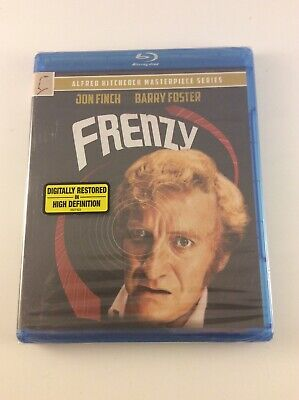 FRENZY [1972] Blu-ray (2013, Universal) Alfred Hitchcock NEW SEALED