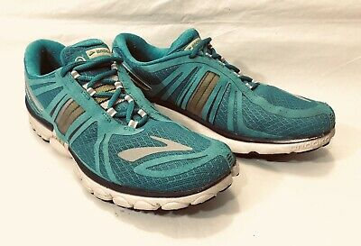 d1dae88a6a0 Women s Brooks Pure Cadence 2 Running Shoes Sneakers Size 10 B Turquoise