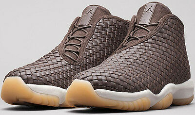 half off 4c585 533f8 Nike Air Jordan Future Premium LUX SZ 11 Dark Chocolate Brown Gum 652141-219