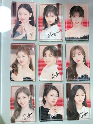 "TWICE DOME TOUR 2019 ""#Dreamday"" - Official Sticker - Full Set of 9 from Japan"