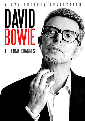 DAVID BOWIE New Sealed COMPLETE LIFE, MUSIC & BIOGRAPHY 2 DVD SET