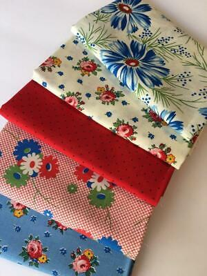American Jane Sweet Harmony Moda Fq Fat Quarter Bundle Of 5 Cotton Quilt Fabric