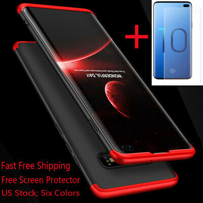 For Samsung Galaxy Note 9/8/S10/S9/S8 Plus/S7 Edge Case With Screen Protector