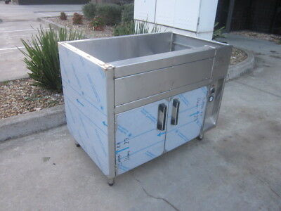 """""""new"""" Stainless Steel Unfinished Under Counter Commercial Warming Cabinet"""