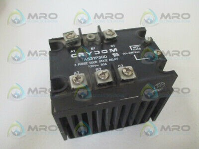 Crydom A53Tp50D Solid State Relay (As Pictured) *Used*