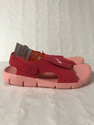 best sneakers eb3b1 26cc2 Nike Sunray Adjust 4 Girls Sandals Pink, Size 3 Y