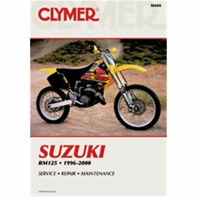 Clymer Dirt Bike Manual - Suzuki RM125 - SUZ RM 125 1996 - 2002
