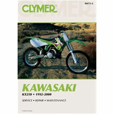 Clymer Dirt Bike Manual - Kawasaki KX250 - KAWI KX 250 1992 - 2000