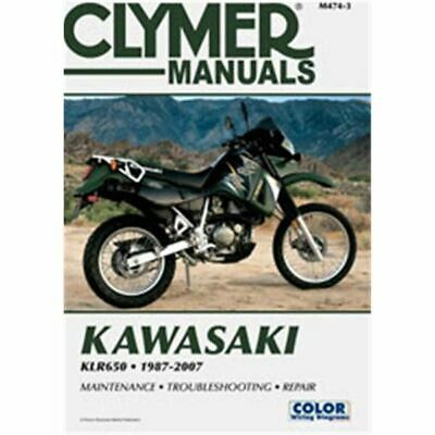 Clymer Dirt Bike Manual - Kawasaki KLR650 1987-2007 - KAWI KL650A1 KLR 1987;