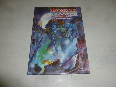 ROGUE TROOPER UK Comic Annual - Year 1991 - UK Fleetway Annual