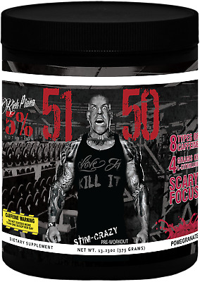 RICH PIANA 5% Nutrition 5150 PRE WORKOUT *MINOR CLUMPING* FREE SHIPPING