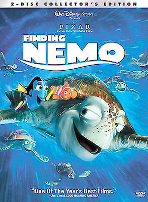 FINDING NEMO Disney Pixar Animated~2-Disc Collectors Edition DVD 2003