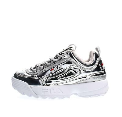 premium selection 1c61c ba110 SCARPE FILA 1010608.3VW Disruptor M Low Wmn Silver Moda Donna Fashion  Lifestyle
