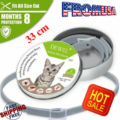 Dewel Soresto Flea And Tick Collars For Small Dogs Cats 8 Months Protection 33cm