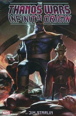 THANOS WARS - INFINITY ORIGIN OMNIBUS HARDCOVER Lee Variant HC 800 Pages