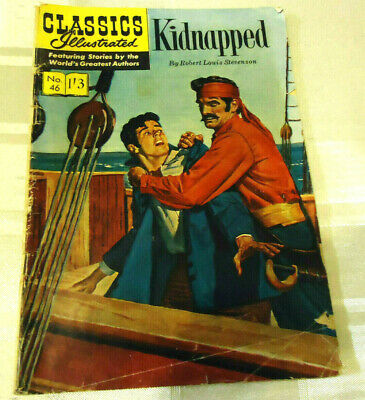 Vintage Classics Illustrated #46 Kidnapped HRN 129 British