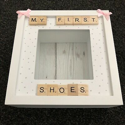 Baby's First My First Shoes Frame