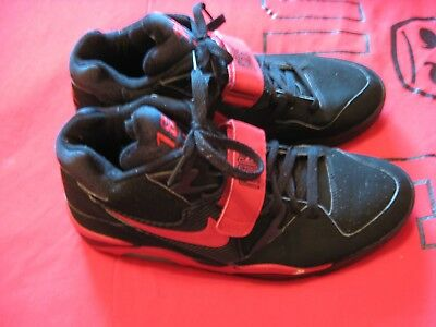 promo code 8a6d7 5d0db Vintage Used Nike Air Force 180 Black And Red Size 11 Shoes  607