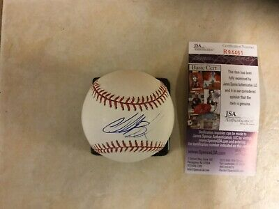 009996fce2d Charlie Blackmon Autograph Signed Rawlings Mlb Baseball Ball Rockies Coa Jsa