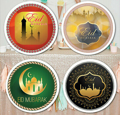 70 Eid Mubarak Celebration Stickers Labels for Party Bag Seals gift wraps