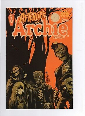 AFTERLIFE WITH ARCHIE #5 First Print Francesco Francavilla Cover A Variant