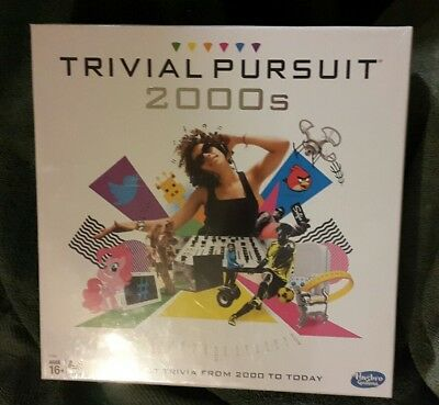 Trivial Pursuit 2000s Board Game Family Friends Fun Hasbro Gaming NEW