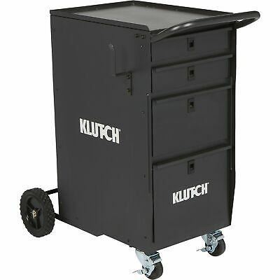 Klutch 4-Drawer Welding Cabinet - 25 1/2in.L x 20 1/2in.W x 34in.H