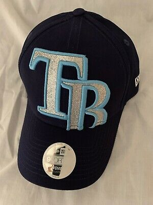 online retailer 3faf4 aa86d Tampa Bay Rays New Era Mlb Women s Glitter Glam Sporty Strapback Cap Nwt  Osfa