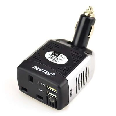 BESTEK 75W Car Charger Power Inverter DC 12V to AC 230V 240V Voltage...