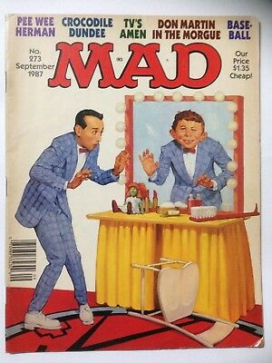 MAD Comic. US Edition Dated September 1987 Issue 273 **Free UK Postage**