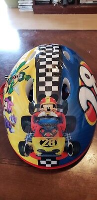 Mickey And The Roadster Racers Toddler Bicycle Helmet