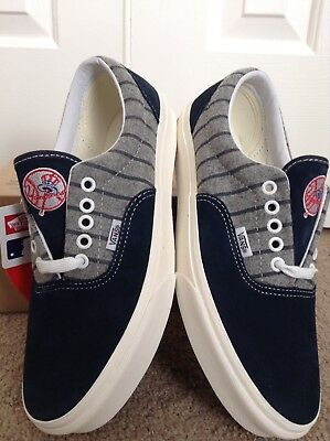 4bd4e8b919 Vans X MLB RARE ny new york ERA YANKEES wool skateboard shoes supreme white  hat