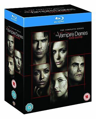 The Vampire Diaries   Complete Series 1-8   Blu-ray        New        Fast  Post