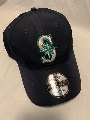 timeless design 728b4 26155 Seattle Mariners New Era Mlb Perfect Pivot 9Twenty Cap Hat Adjustable Strap  Nwt